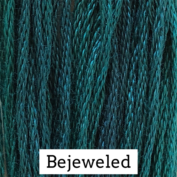 Bejeweled Classic Colorworks 6 Strand Hand-Dyed Embroidery Floss