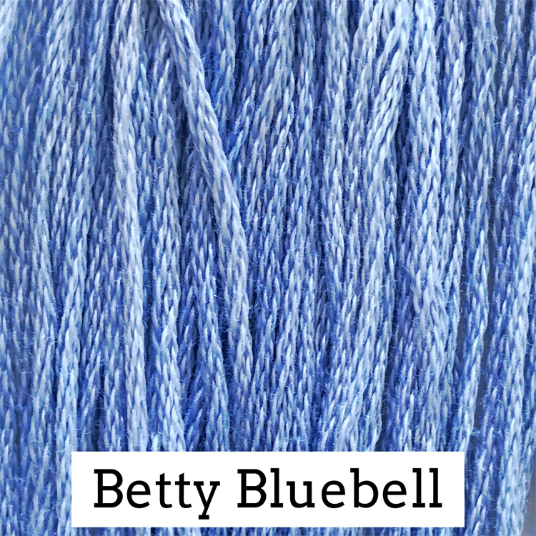 Betty Bluebell Classic Colorworks 6 Strand Hand-Dyed Embroidery Floss