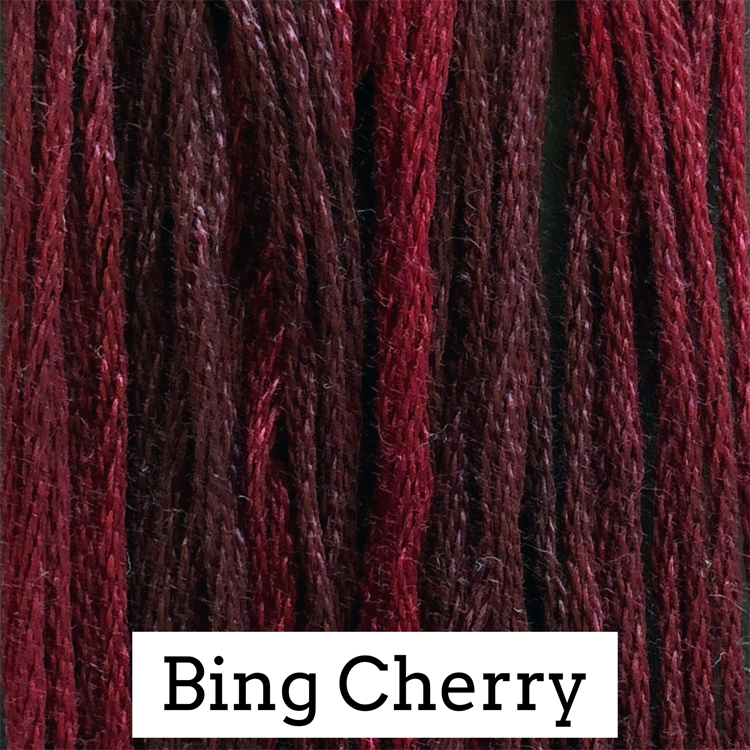 Bing Cherry Classic Colorworks 6 Strand Hand-Dyed Embroidery Floss
