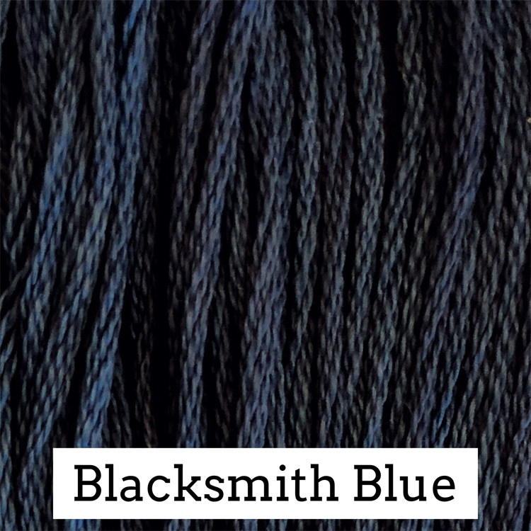 Blacksmith Blue Classic Colorworks 6 Strand Hand-Dyed Embroidery Floss