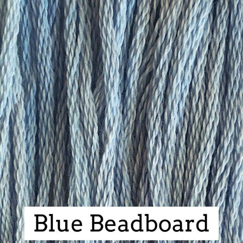 Blue Beadboard Classic Colorworks 6 Strand Hand-Dyed Embroidery Floss