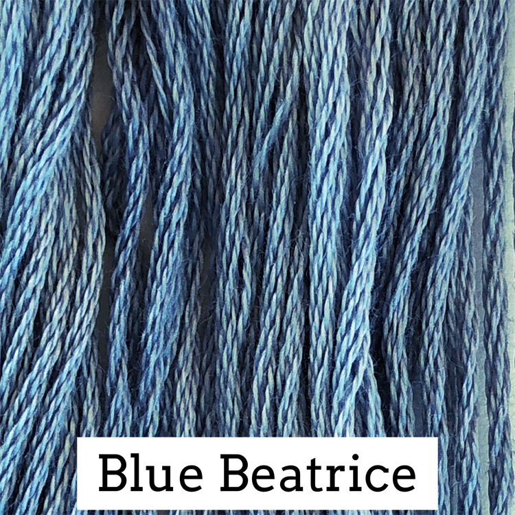 Blue Beatrice Classic Colorworks 6 Strand Hand-Dyed Embroidery Floss