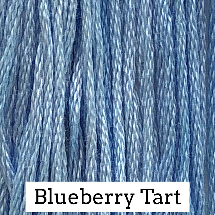 Blueberry Tart Classic Colorworks 6 Strand Hand-Dyed Embroidery Floss
