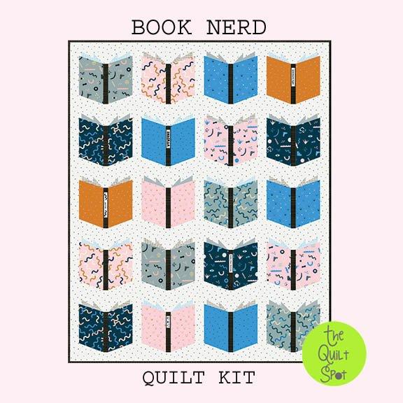 Anagram Book Nerd Quilt Kit