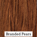 Brandied Pears Classic Colorworks 6 Strand Hand-Dyed Embroidery Floss