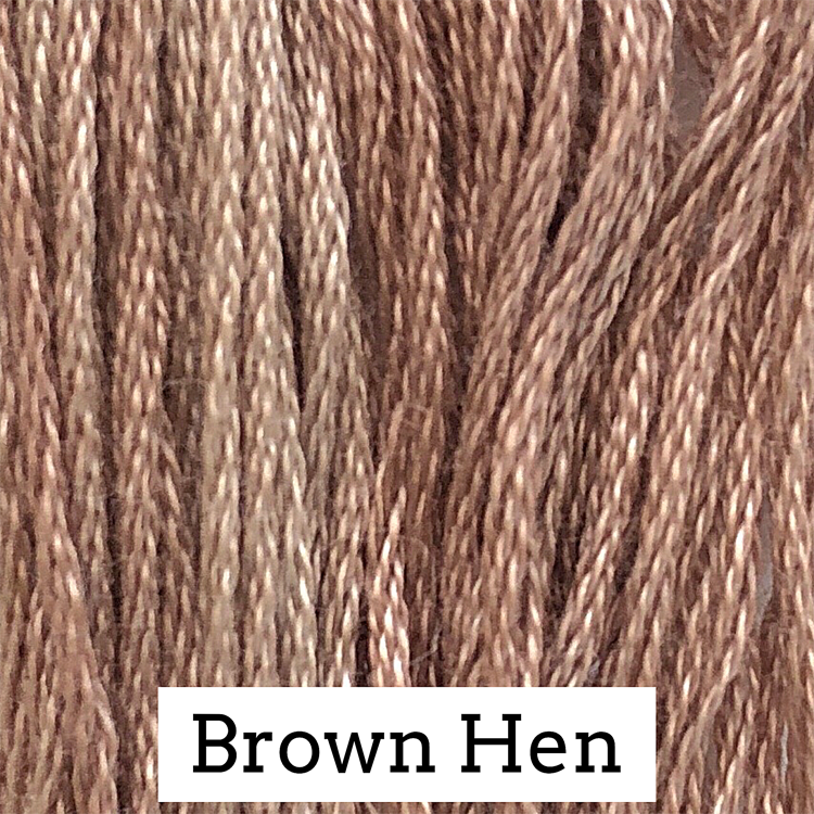 Brown Hen Classic Colorworks 6 Strand Hand-Dyed Embroidery Floss