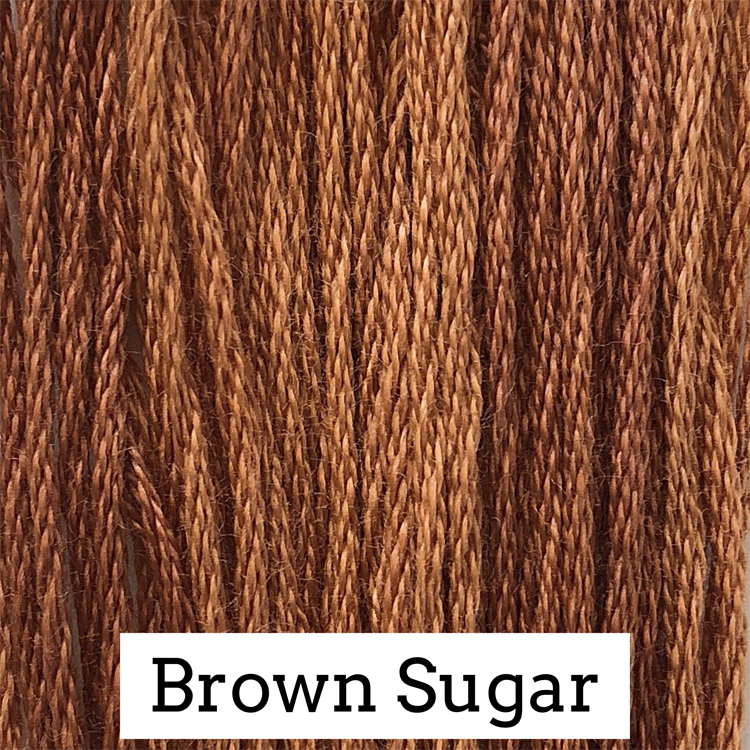 Brown Sugar Classic Colorworks 6 Strand Hand-Dyed Embroidery Floss
