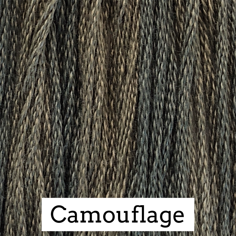 Camouflage Classic Colorworks 6 Strand Hand-Dyed Embroidery Floss