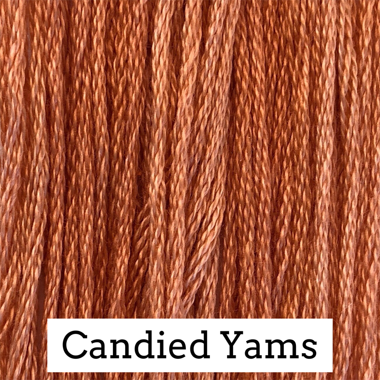 Candied Yams Classic Colorworks 6 Strand Hand-Dyed Embroidery Floss