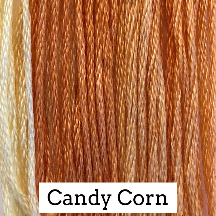 Candy Corn Classic Colorworks 6 Strand Hand-Dyed Embroidery Floss