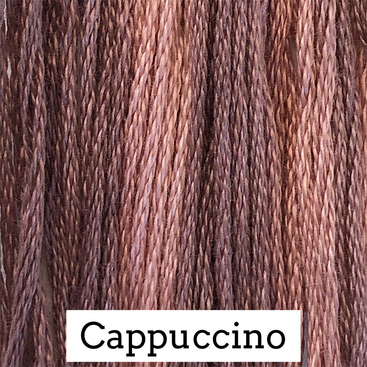 Cappuccino Classic Colorworks 6 Strand Hand-Dyed Embroidery Floss