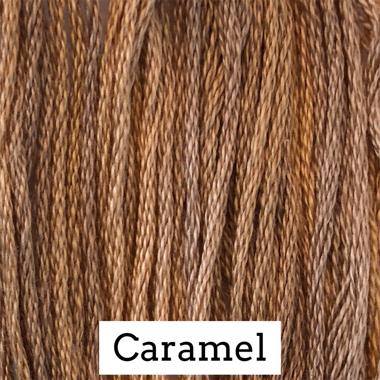 Caramel Classic Colorworks 6 Strand Hand-Dyed Embroidery Floss