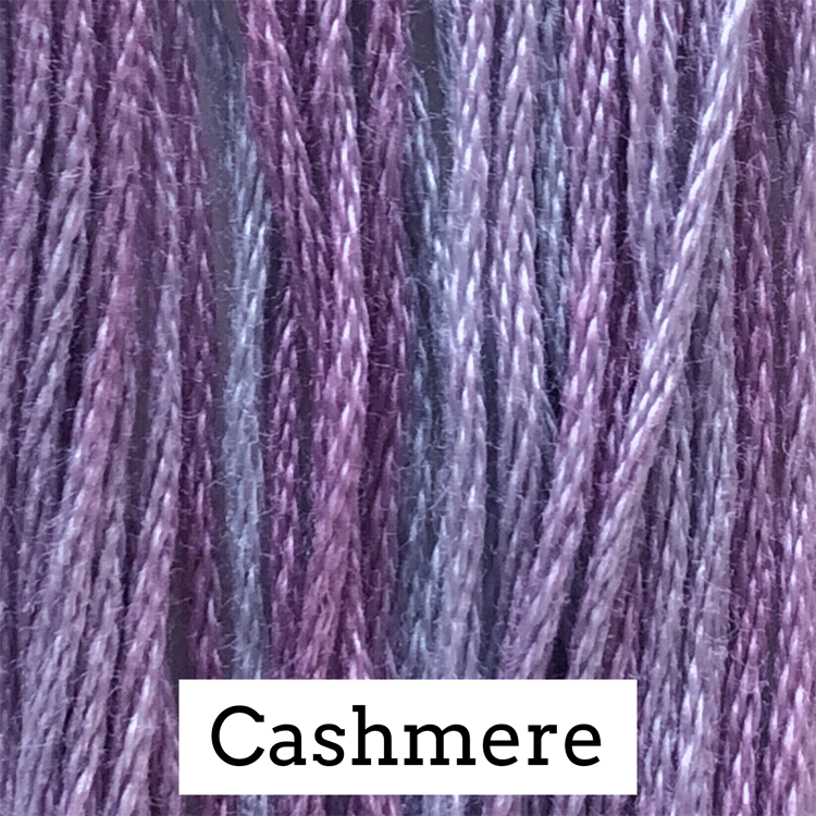 Cashmere Classic Colorworks 6 Strand Hand-Dyed Embroidery Floss