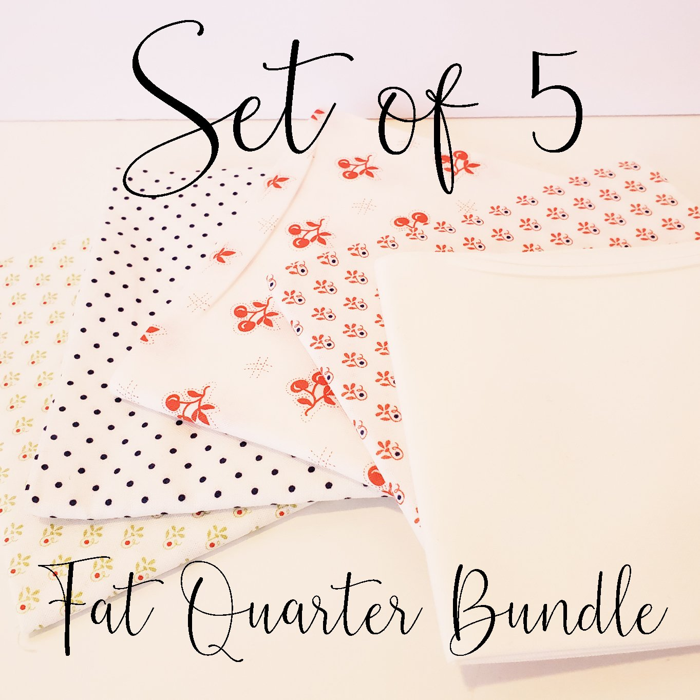 Fig Tree Low Volume Fat Quarter Bundle of 5