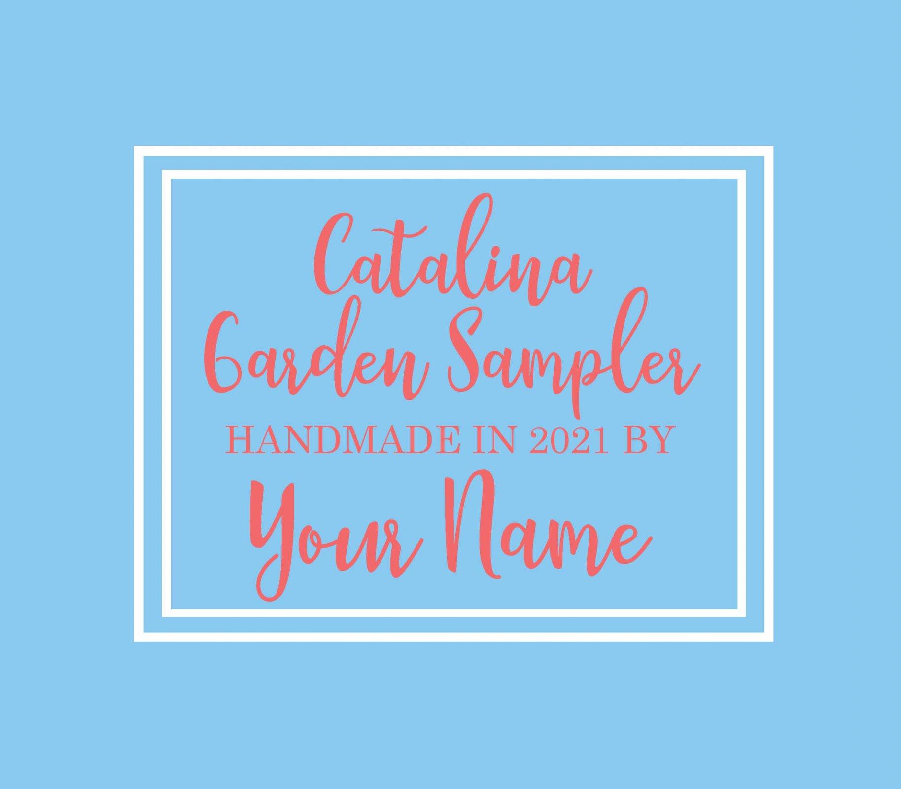 Catalina Custom Label