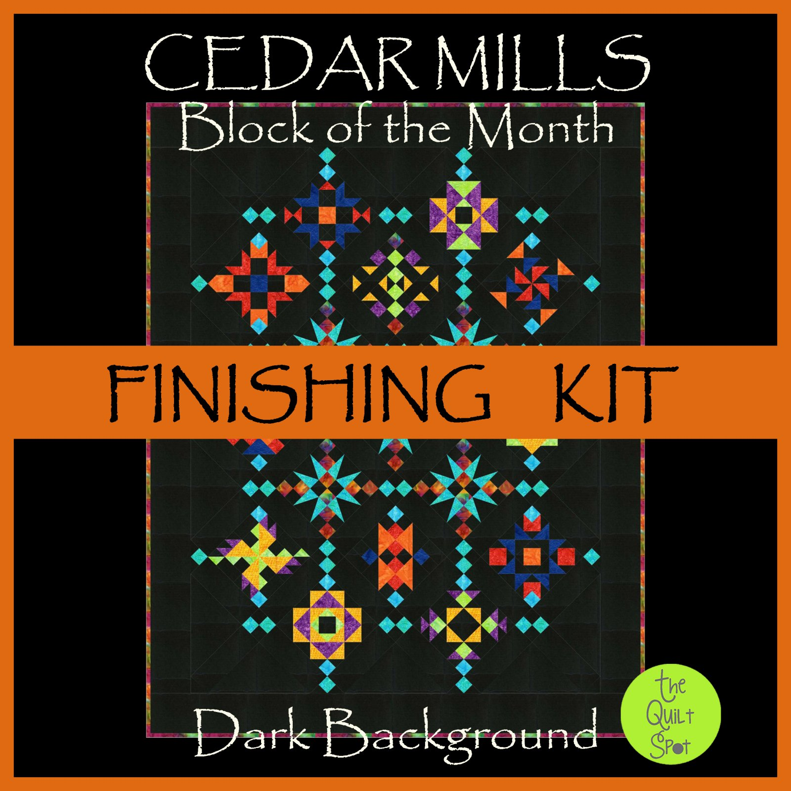 Cedar Mills Finishing Kit DARK