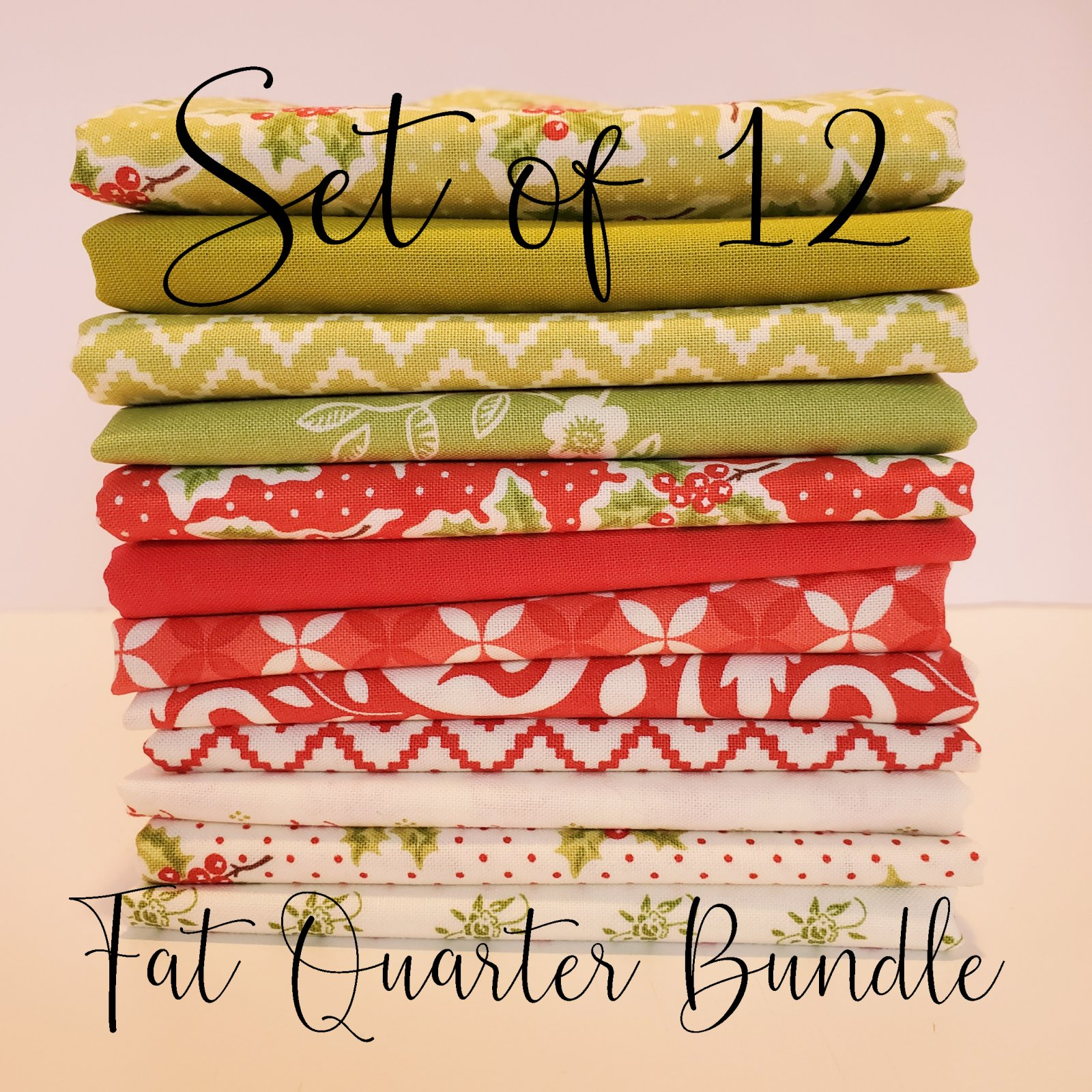 Christmas Figs 2 by Fig Tree Quilts - 12 Fat Quarter Bundle
