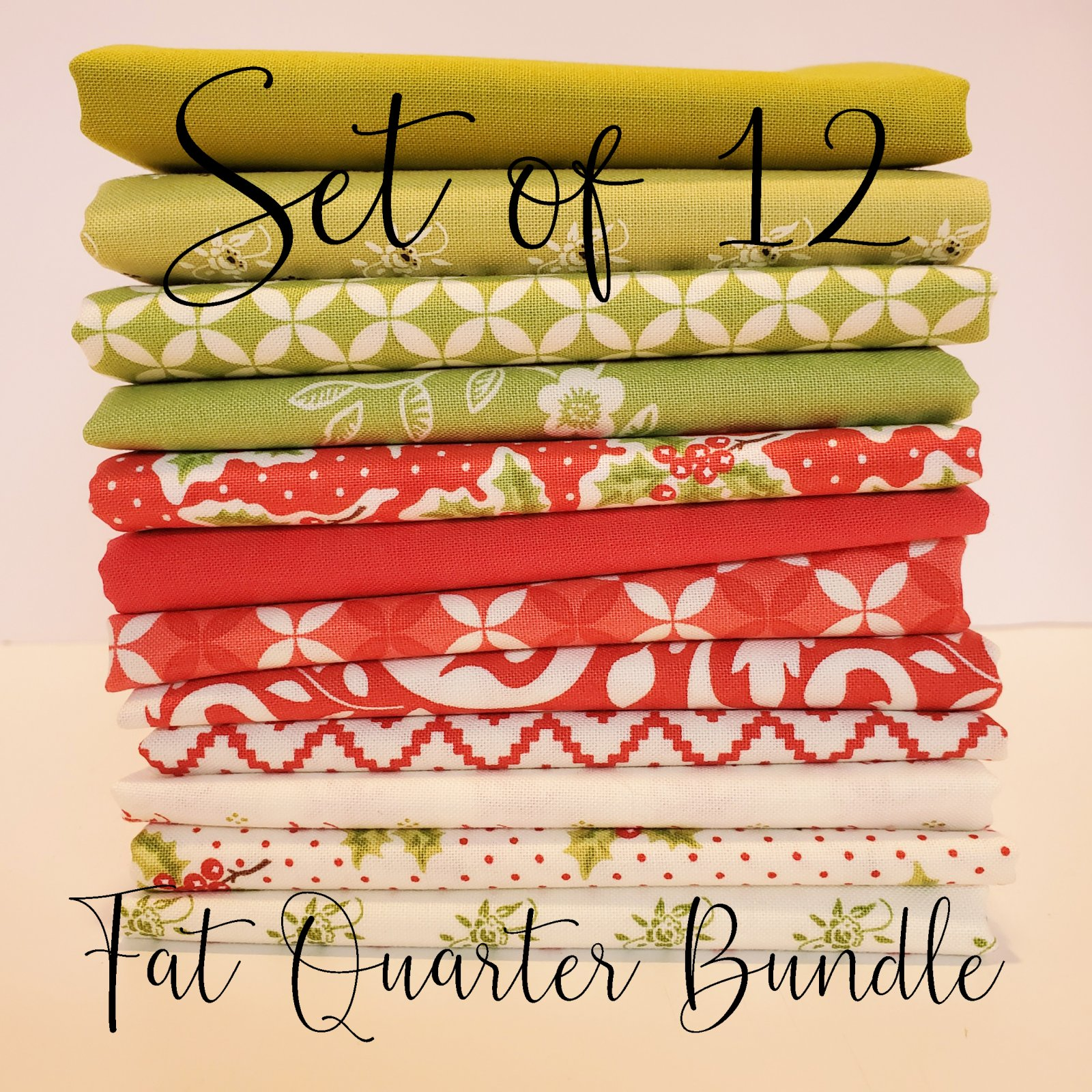 Christmas Figs 2 by Fig Tree Quilts - 12 Fat Quarter Bundle V2