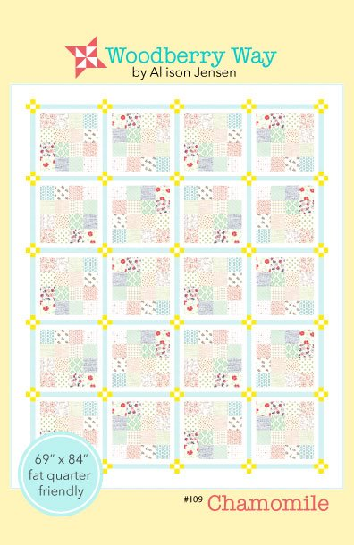 Chamomile Quilt Pattern by Woodberry Way