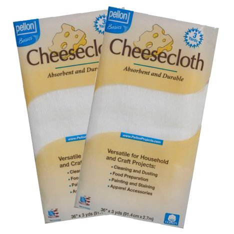 2 Packages of Cheese Cloth 36in x 3yds