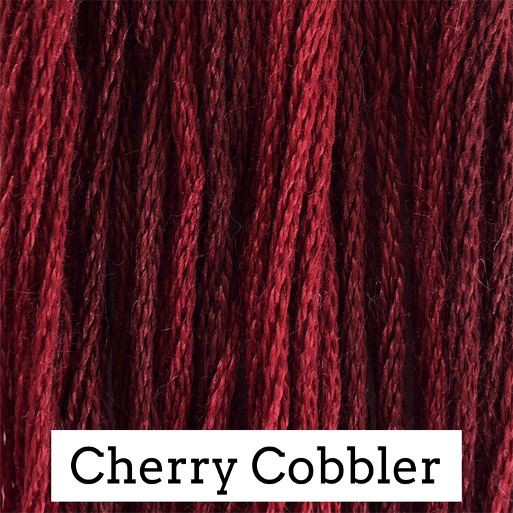 Cherry Cobbler Classic Colorworks 6 Strand Hand-Dyed Embroidery Floss