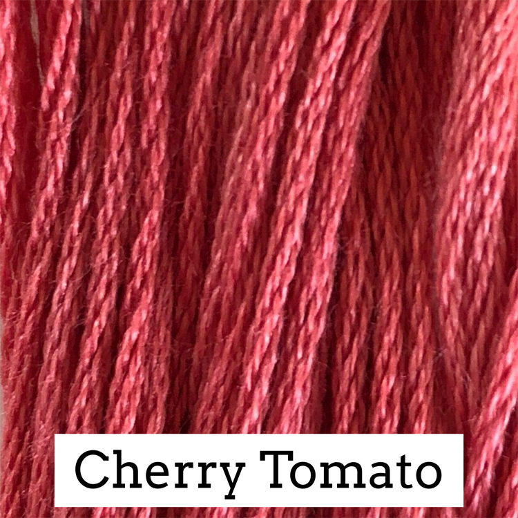 Cherry Tomato Classic Colorworks 6 Strand Hand-Dyed Embroidery Floss