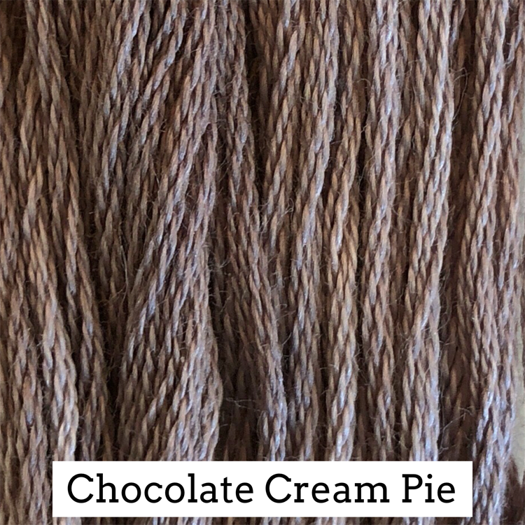 Chocolate Cream Pie Classic Colorworks 6 Strand Hand-Dyed Embroidery Floss