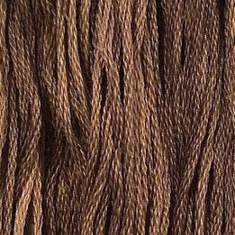 Chocolate Mousse Classic Colorworks 6 Strand Hand-Dyed Embroidery Floss