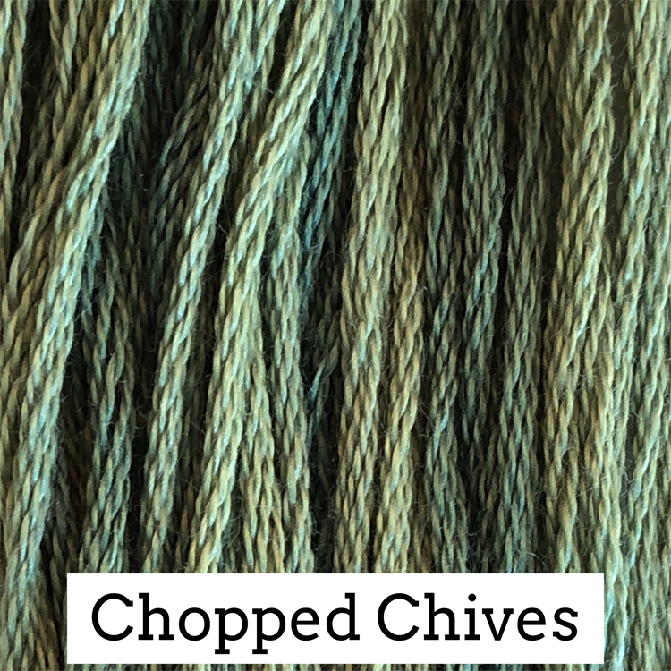 Chopped Chives Classic Colorworks 6 Strand Hand-Dyed Embroidery Floss