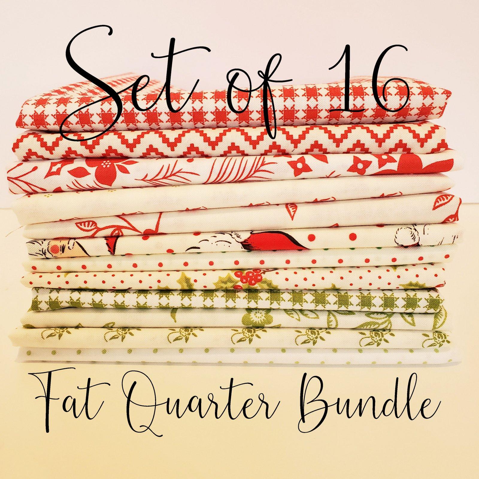 Low Volume Christmas - 16 Fat Quarter Bundle