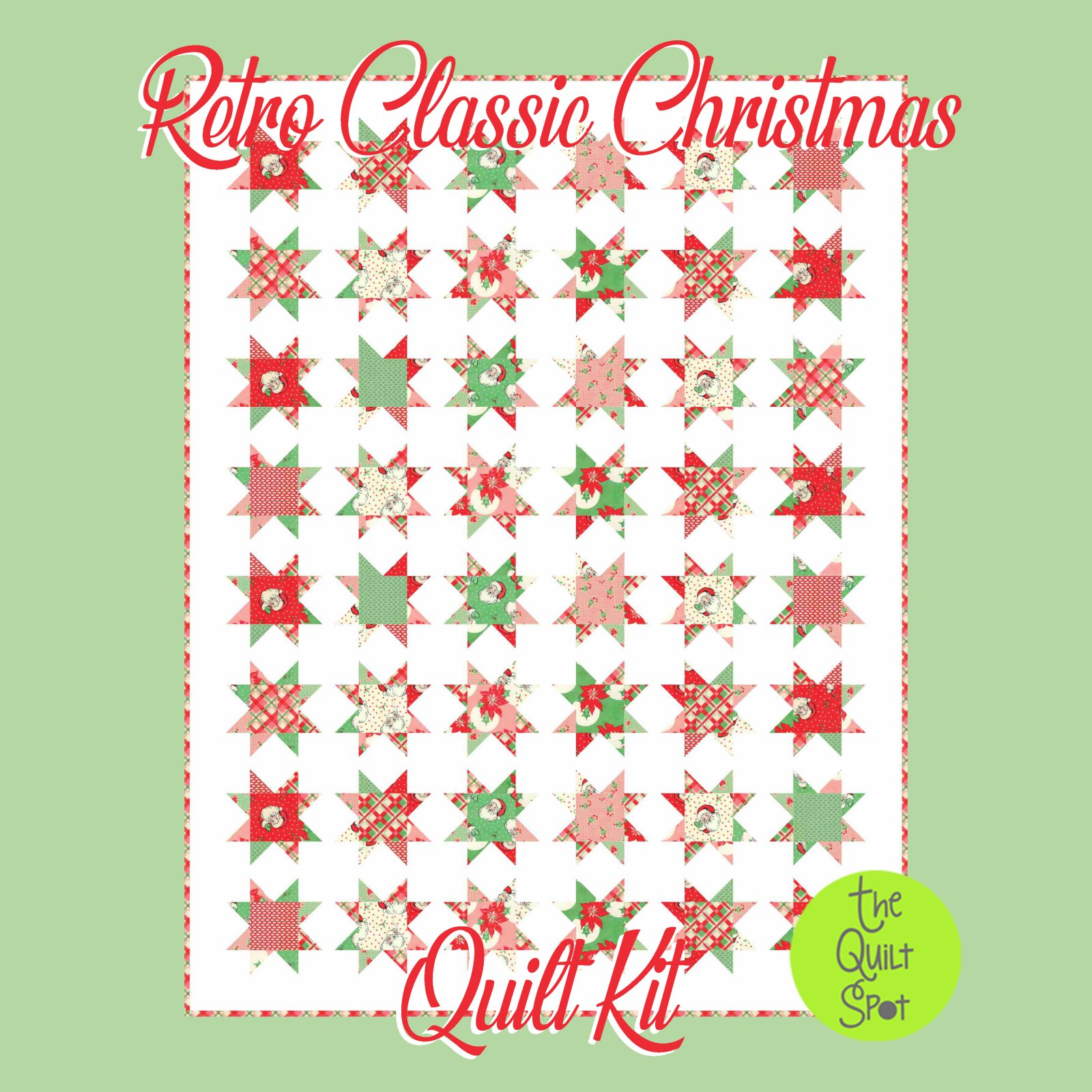 Retro Classic Christmas Swell Quilt Kit