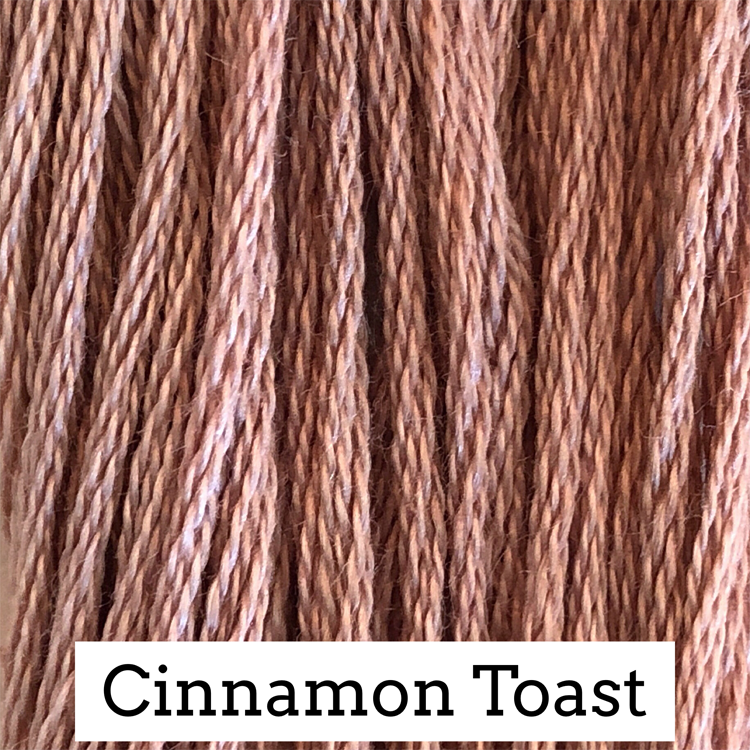 Cinnamon Toast Classic Colorworks 6 Strand Hand-Dyed Embroidery Floss