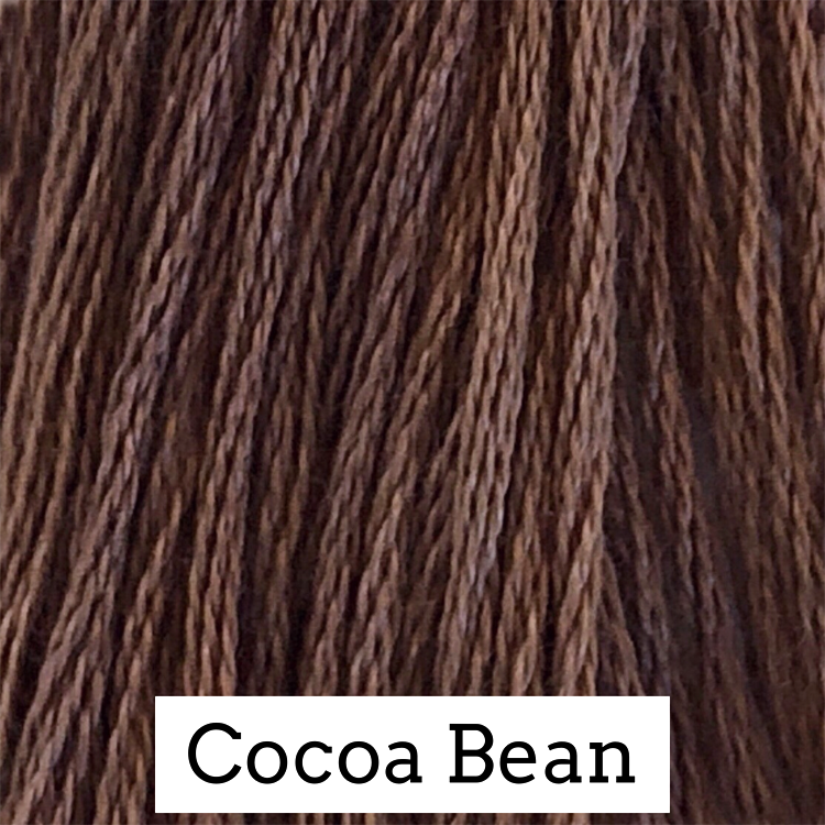 Cocoa Bean Classic Colorworks 6 Strand Hand-Dyed Embroidery Floss