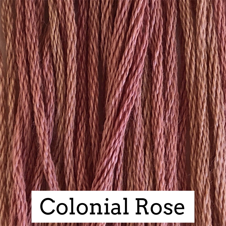 Colonial Rose Classic Colorworks 6 Strand Hand-Dyed Embroidery Floss