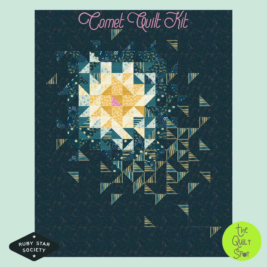 Comet Quilt Top Kit by Ruby Star Society