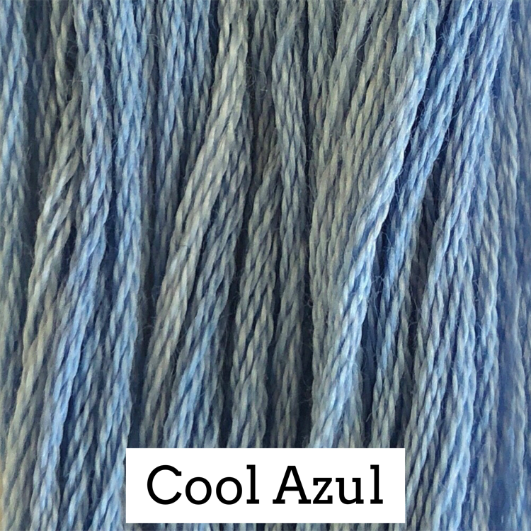 Cool Azul Classic Colorworks 6 Strand Hand-Dyed Embroidery Floss