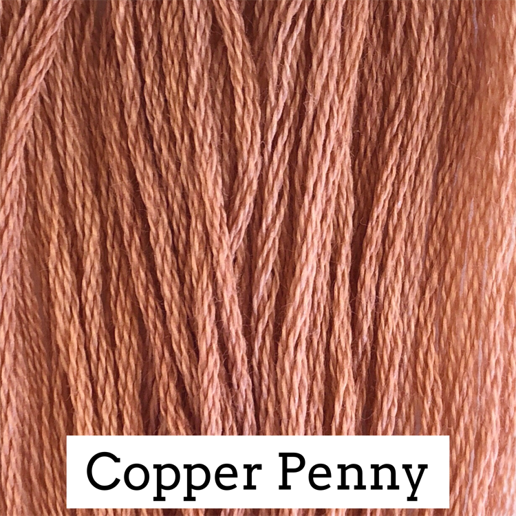 Copper Penny Classic Colorworks 6 Strand Hand-Dyed Embroidery Floss