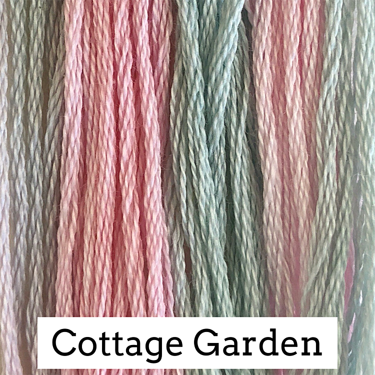 Cottage Garden Classic Colorworks 6 Strand Hand-Dyed Embroidery Floss