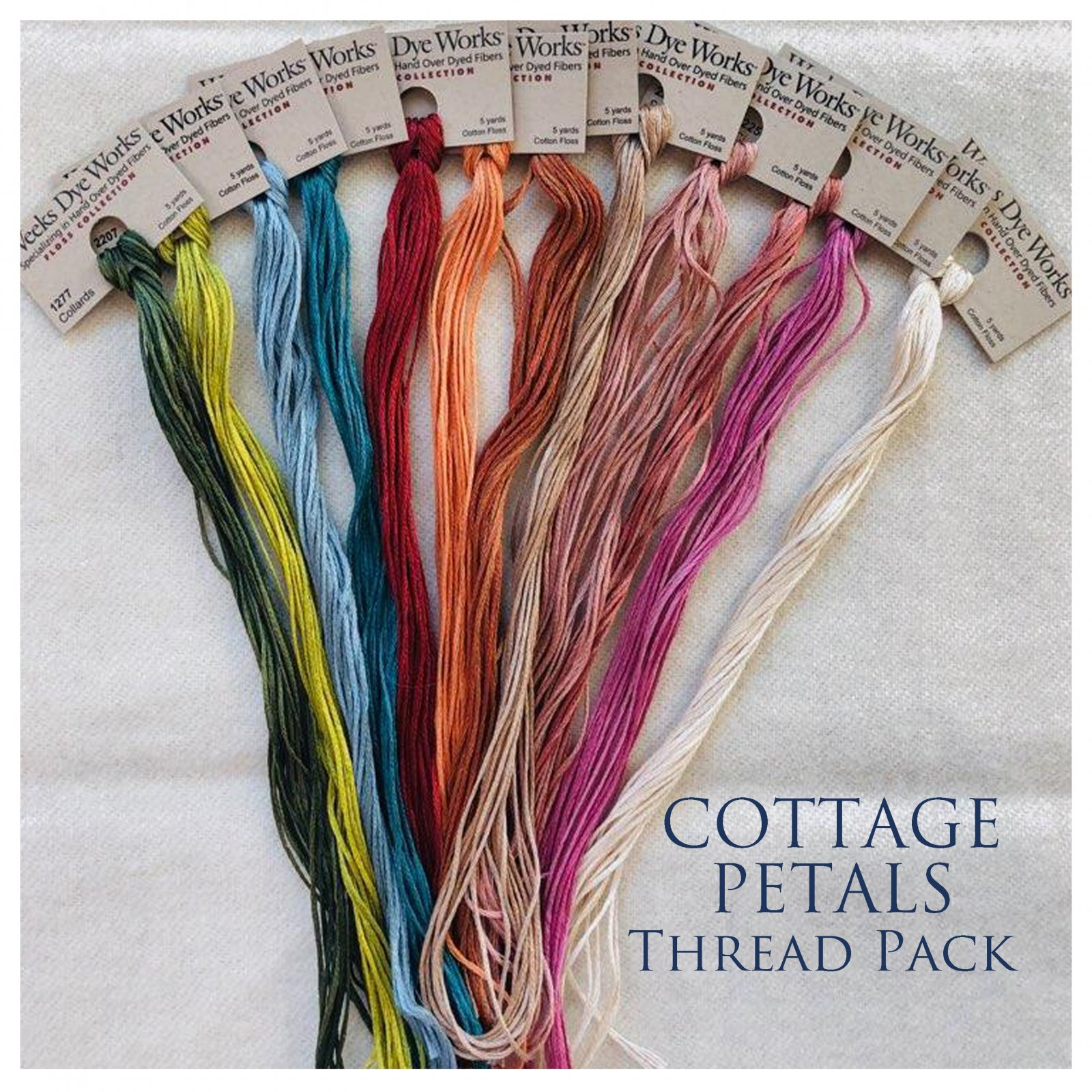 Cottage Petals Thread Pack