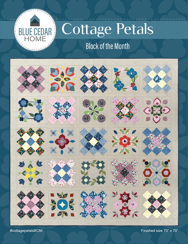 Cottage Petals Pattern Only