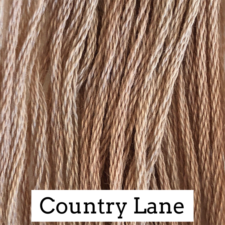 Country Lane Classic Colorworks 6 Strand Hand-Dyed Embroidery Floss