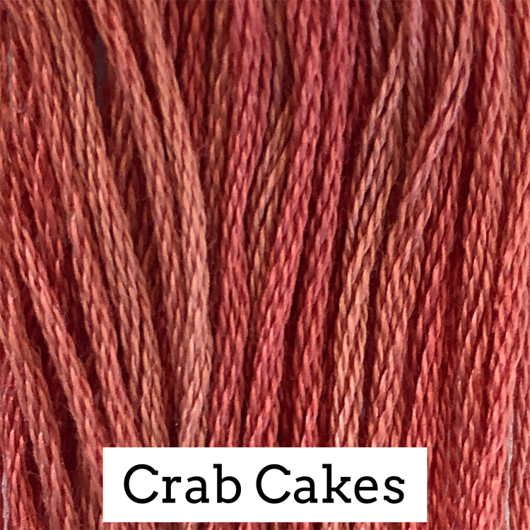 Crab Cakes Classic Colorworks 6 Strand Hand-Dyed Embroidery Floss