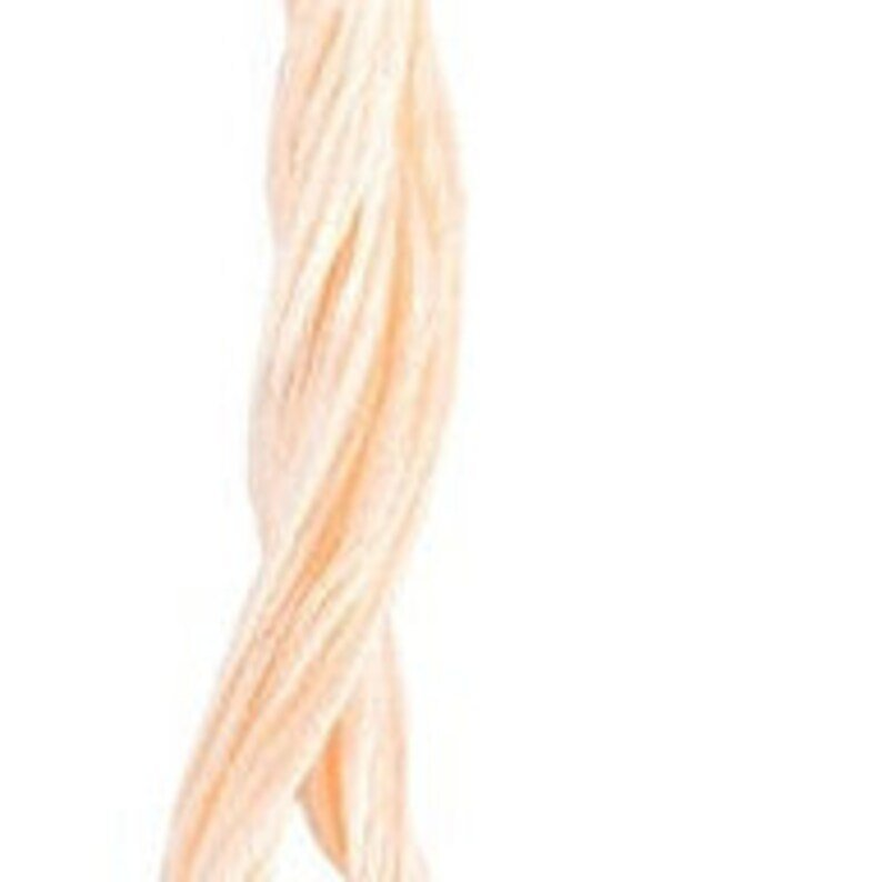 Creamy Peach Classic Colorworks 6 Strand Hand-Dyed Embroidery Floss