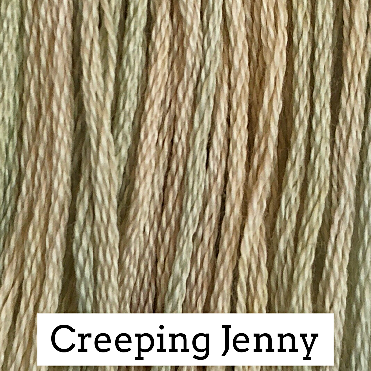 Creeping Jenny Classic Colorworks 6 Strand Hand-Dyed Embroidery Floss