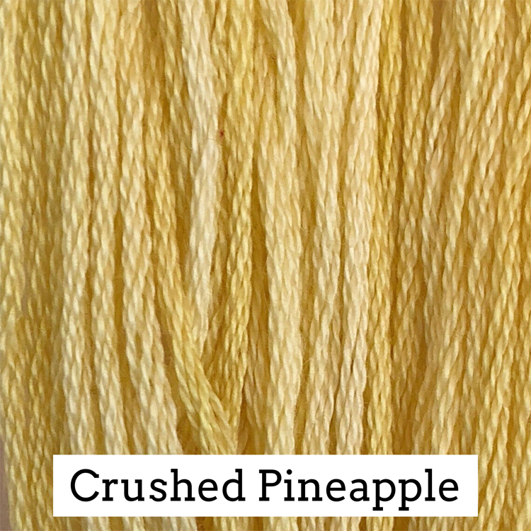 Crushed Pineapple Classic Colorworks 6 Strand Hand-Dyed Embroidery Floss