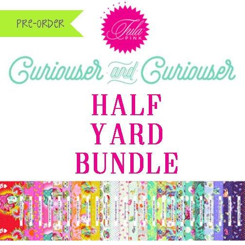 Tula Pink's Curiouser & Curiouser Half Yard Bundle