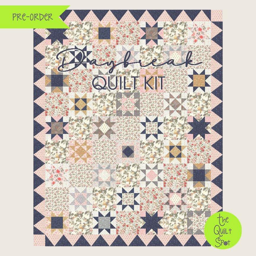 Daybreak Quilt Kit by 3 Sisters