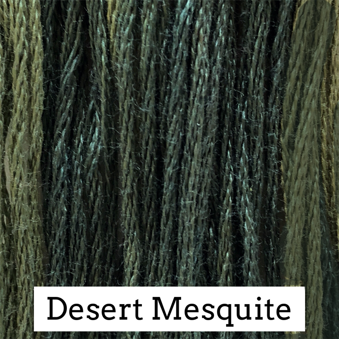 Desert Mesquite Classic Colorworks 6 Strand Hand-Dyed Embroidery Floss