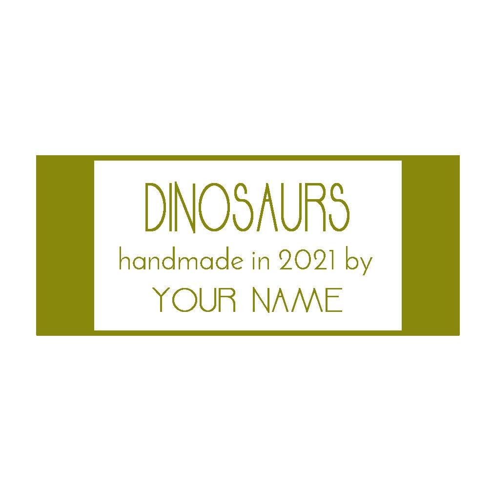 Dinosaurs Custom Label