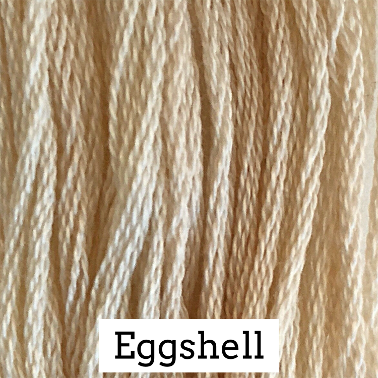 Eggshell Classic Colorworks 6 Strand Hand-Dyed Embroidery Floss